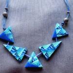 triangles bleus